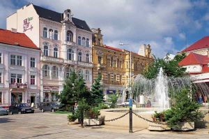 Fountain on Benes Square - Teplice