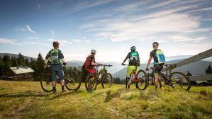 Cycling routes in the Ore Mountains